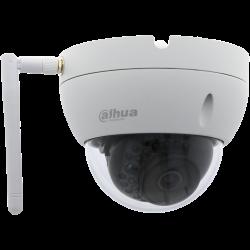 Caméra DAHUA mini-dôme ip avec 3 megapíxeles et objectif fixe